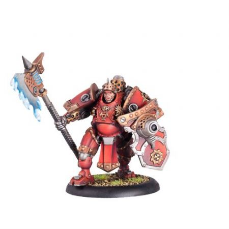Khador Man-O-War Shocktrooper Officer  inc resin